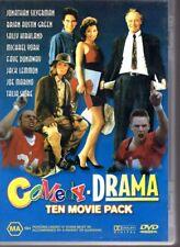 COMEDY - DRAMA TEN MOVIE PACK - DVD R4 4-Disc Set - VG