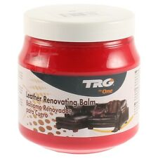 TRG LEATHER RESTORATION CREAM RESTORER SOFA CAR SEATS BAG FREE MICROFIBRE