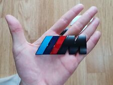 BMW M POWER SPORT BADGE REAR BOOT EMBLEM STICKER SERIES 1 2 M3 4 M5 6 7 X3 X5 X6