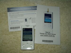 one touch verio IQ glucose meter / monitor only