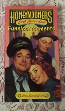 THE HONEYMOONERS LOST EPISODES FUNNIEST MOMENTS - HOW SWEET IT IS - VHS TAPE
