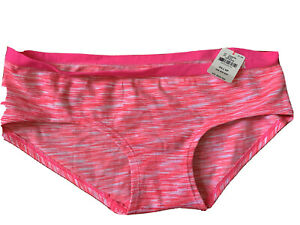Victorias secret PINK size XS Hipster panties pink and white cute! New W/Tags