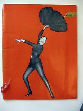 1950s Josephine Baker Paris mes Amours in Bruxelles Program Nice!