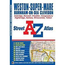 Weston-super-Mare Street Atlas, Good Condition Book, Geographers A-Z Map Co Ltd,