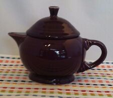 Fiestaware Heather 2 Cup Teapot Fiesta Retired Purple Small Childs Teapot NWT