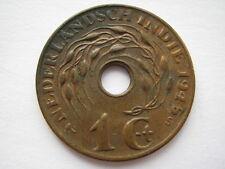 Netherlands East Indies 1 Cent 1945-S, UNC.