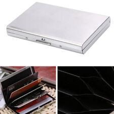 Men Stylish Metal Credit Card Holder Slim RFID Blocking Wallet ID Card Clip Case