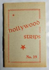 Hollywood Strips Booklet No. 19 Netherlands Maple Leaf Bubble Gum Premium
