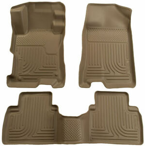 Husky Liners WeatherBeater Combo Tan For 04-09 Toyota Prius Floor Liners