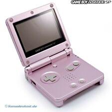 Nintendo GameBoy Advance - Konsole GBA SP AGS-101 #rosa / pink + Stromkabel