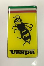 VESPA WASP Sticker/Decal - 50mm x 28mm HIGH GLOSS DOMED GEL - SCOOTER - MOPED
