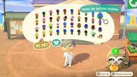 Todas Flores Hibridas - All hybrid flowers (40 Pcs) Animal Crossing New Horizons