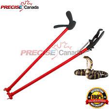 """65"""" Snake Tongs Heavy Duty Reptile Rattlesnake Catcher & Grabber Pick up Stick"""