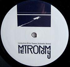 "METRONOMY 12"" Loving Arms - Prins Thomas Diskomiks Remix 500 made !"