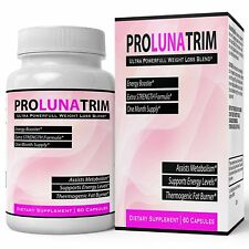 PRO LUNA TRIM weightloss Supplement - Extreme Slim Tablets Thermogenic Lean...