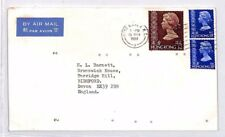 XX250 1980 HONG KONG Cover Commercial Airmail