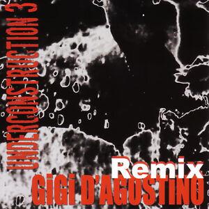CD Gigi D'Agostino Underconstruction EP 3 Remix