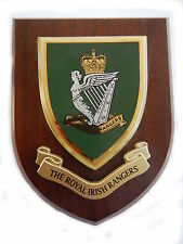 Royal Irish Rangers Military Shield Wall Plaque