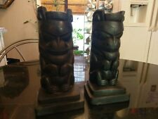 Awesome Pair Of Myan Or Incan  Book Ends