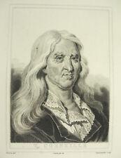 Pierre Corneille le grand poète né à Rouen DEQUEVAUVILLER Devéria Couché c1880