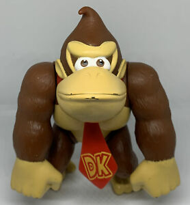 "Nintendo Donkey Kong - DK 6"" Action Figure Doll 2009 Toy"