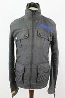 Superdry Japan Grey Jacket Size S
