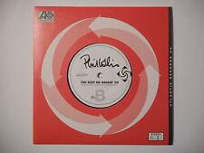 """7"""" PHIL COLLINS : YOU KEEP ME HANGIN' ON ► 45 TOURS ◄ PORT GRATUIT"""