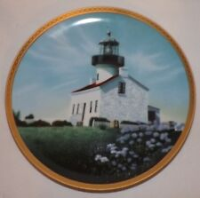 Hamilton Collection Old Point Iowa Light American Lighthouse Collector Plate