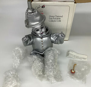 Marie Osmond 2001 Tiny Tot Baby Tin Man WIZARD OF OZ Doll #1731 COA, C97265
