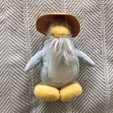 Club Penguin Light Blue Rice Paddy Sensei Plush Stuffed Animal EUC