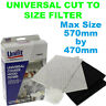 B and Q Universal Filter for Recirculation Cooker Hood models