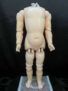 """Antique Composition Doll Body ~ 21 1/2"""" ~"""