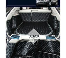 Car Trunk Boot Liner Mats Carpet Full Cover For BMW X6 2007-2014 Year Waterproof