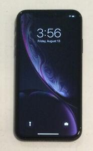 TESTED BLACK CDMA + GSM UNLOCKED APPLE iPhone XR, 64GB A1984 MT3K2LL/A J25T