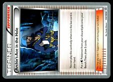 4X PROMO POKEMON CHAMPIONSHIPS 2015 N° 124/160 ARCHIE's ACE IN THE HOLE