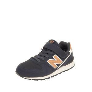 NEW BALANCE KIDS 996 Sneakers Size 33 UK 1 US 1.5 Contrast Panel Logo Patch