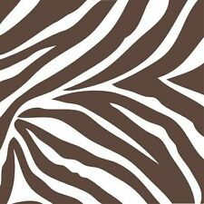Wall Pops Animal Instinct Zebra Squares Stickers Decals WPB93857