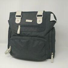 Carter's City Tote Diaper Bag, Grey Textured