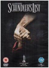 SCHINDLER'S LIST SPECIAL EDITION 2 DISC BOX SET UNIVERSAL UK REG2 DVD NEW SEALED