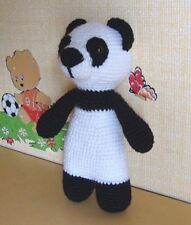 Panda Crocheted Baby Toy Handmade