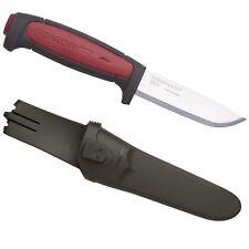 Morakniv Sweden Pro C Work Woodcarving Knife / Bordeaux *New With Sheath*