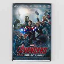 THE AVENGERS / AGE OF ULTRON - MINI POSTER MAGNET (marvel print toy lp shirt)