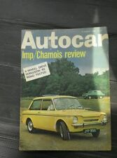 Weekly August Autocar Cars, 1960s Transportation Magazines