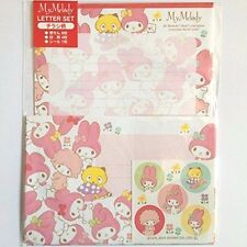 My Melody Letter Set Letter Paper Envelope Seal Sanrio Kawaii Free Shipping