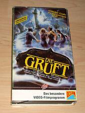 VHS - Die Gruft - Original Kinofassung - Horrorfilm - Gruselfilm - Videokassette