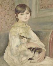 Julie Manet pierre-Auguste renoir français peintre enfant filles B a3 03098