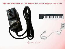 Global AC Adapter For Alesis VI61 Advanced 61-Key USB-MIDI Keyboard Power Supply