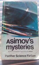 Isaac Asimov Asimov's Mysteries Panther Paperback Book