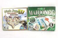Lot of 2 Mahjongg PC Games: Hoyle Mahjongg & Mahjong Quest III Balance of Life