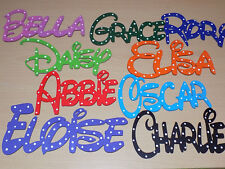 DISNEY Personalised Wooden Name Plaques Board Word/Letters wall/door /craft/sign